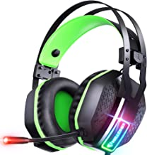 Best Mifanstech V-10 Gaming Headset for Xbox One Playstation PS4 PS5 PC - 3.5mm Surround Sound, Noise Reduction Game Headphone with Microphone and Volume Control for Laptop, Tablet,Switch Games Review