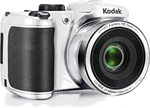 """Kodak PIXPRO Astro Zoom AZ252-WH 16MP Digital Camera with 25X Optical Zoom and 3"""" LCD (White)"""