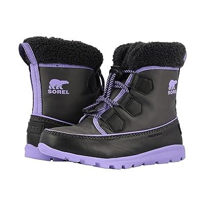SOREL Kids Whitneytm Carnival (Little Kid/Big Kid) (Dark Grey/Paisley Purple) Girls Shoes