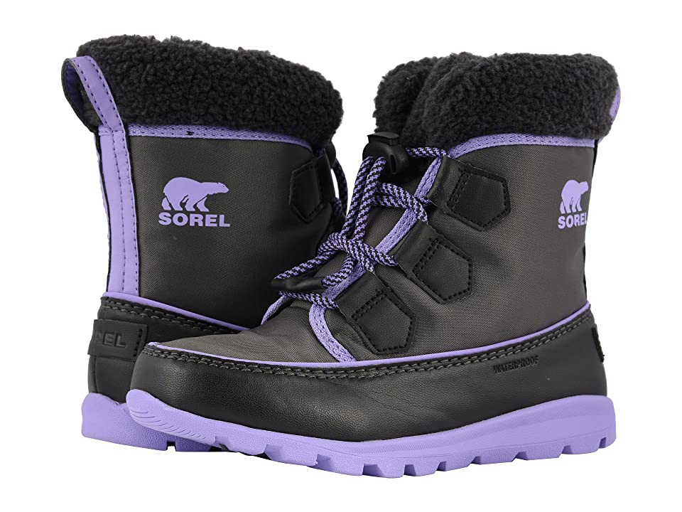 SOREL Kids Whitneytm Carnival (Little Kid/Big Kid) (Dark Grey/Paisley Purple) Girls Shoes