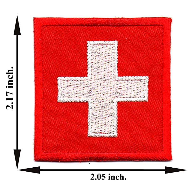 American Red Cross Medic First Aid Nurse Doctor Emergency Logo Patch