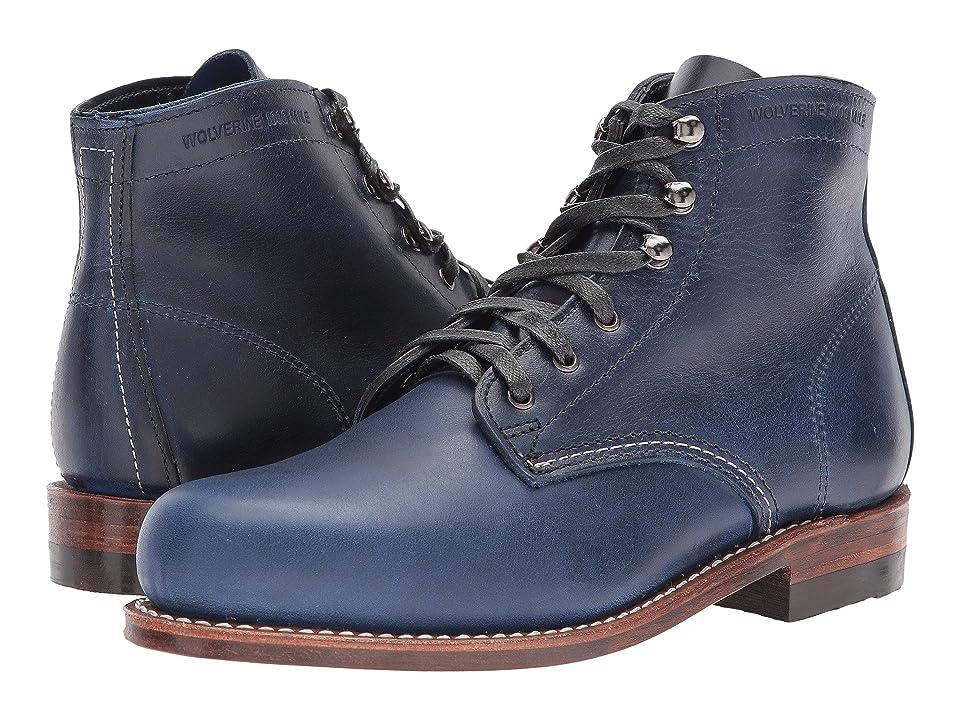 Wolverine Heritage Original 1000 Mile Boot (Dark Blue Leather) Women