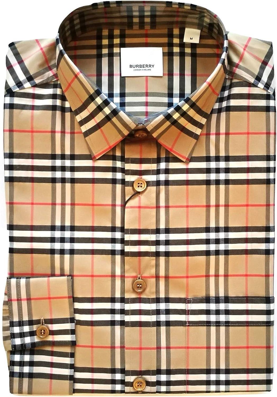 Burberry 80209661 - Camisa de manga larga de algodón para ...
