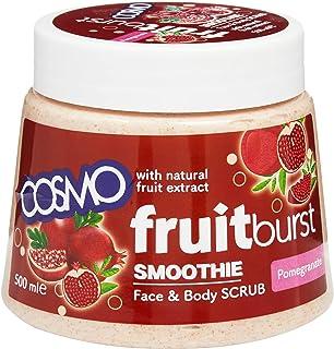 Cosmo Fruitburst Pomegranate Body Scrub, 500 ml