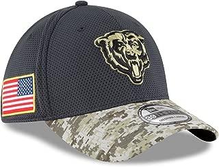 New Era Men's NFL Chicago Bears 16 Salute to Service Sideline Hat
