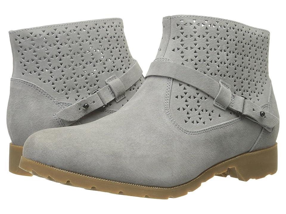 Teva Delavina Ankle Perf (Grey) Women