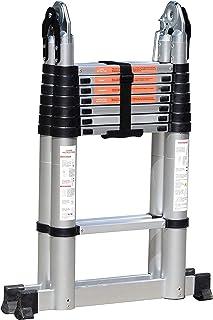5M Household Telescopic Multipurpose Joint Ladder - 2.5m + 2.5m