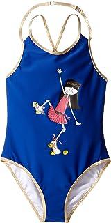 [マークジェイコブス] Little Marc Jacobs レディース One-Piece Miss Marc Swimsuit (Little Kids/Big Kids) 水着 [並行輸入品]