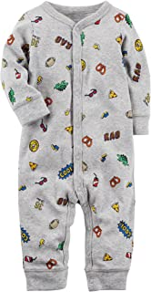Carter's Baby Boys' 0M-9M Snap up Cotton Sleep and Play