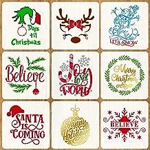 Best christmas stencils large Reviews