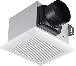Tech Drive Very-Quiet 80 CFM, 1.5 Sone No Attic Access Needed Installation Bathroom Ventilation and Exhaust Fan