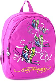 Ed Hardy Josh Kids Backpack School Tote Bag