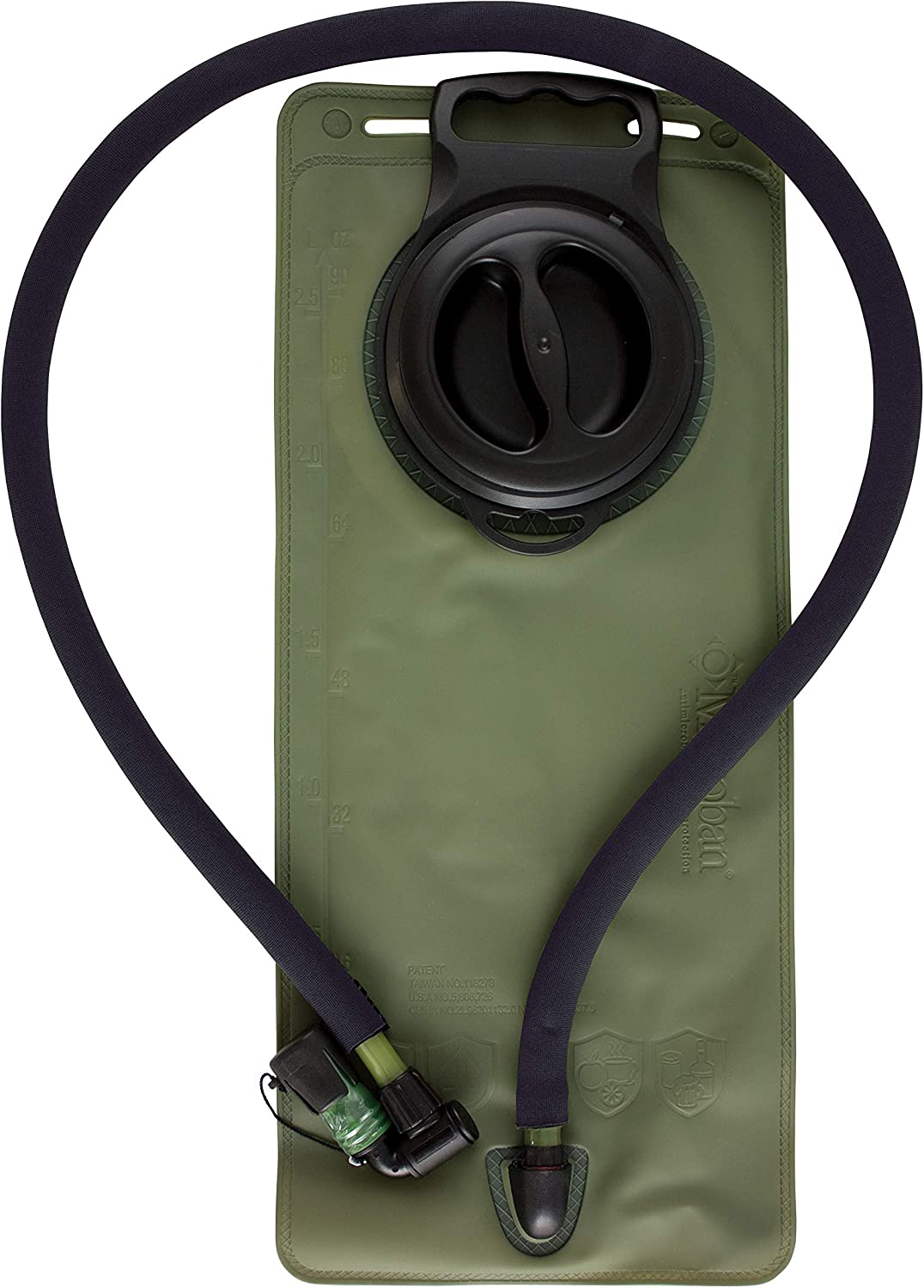 New Red Rock Outdoor Gear RED80425BLK Hydration Bladder Replacement