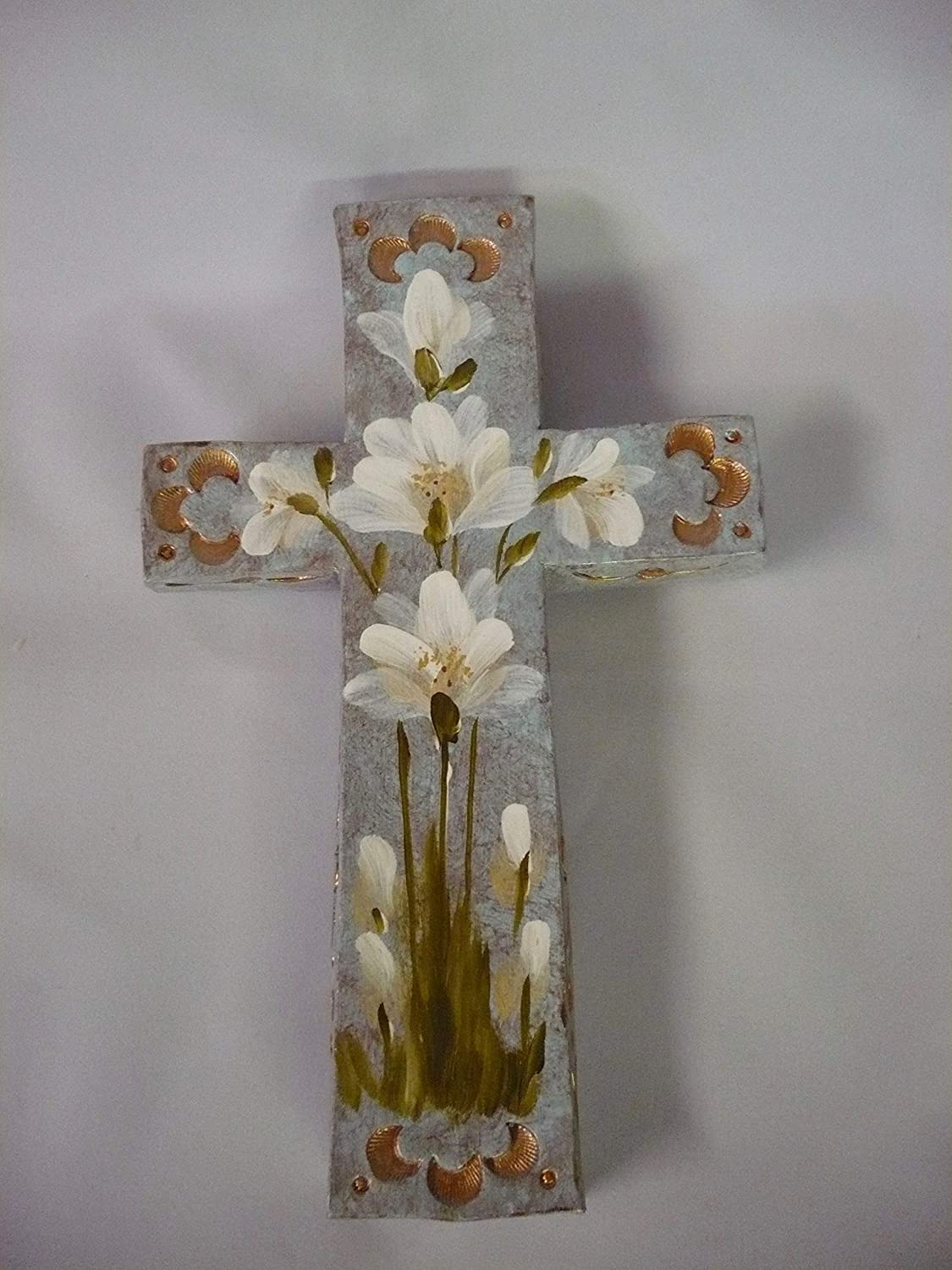 Christian Decorative Wall Handcrafted Max 84% OFF Cross Outlet ☆ Free Shipping