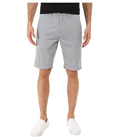 Volcom Frickin Modern Stretch Chino Shorts (Grey Heather) Men