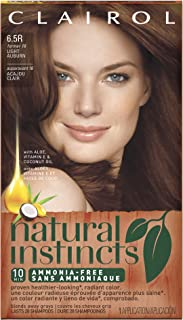 Clairol Natural Instincts Hair Color 16, Spiced Tea, Light Auburn 1 Kit