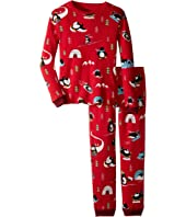 P.J. Salvage Kids - Thermal Sleep Set - Penguin (Toddler/Little Kids/Big Kids)