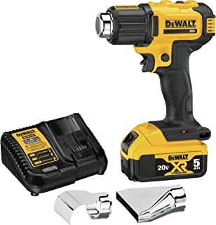 DEWALT DCE530P1 20V Max Cordless Heat Gun Kit