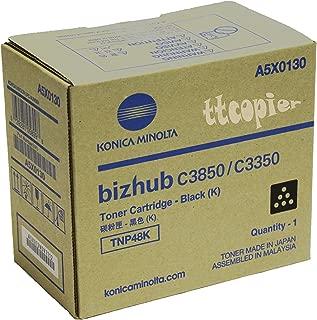 KONICA MINOLTA TNP48K Black Original Toner (10,000 Yield)