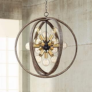 Best antique brass orb chandelier Reviews