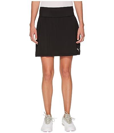 PUMA Golf PWRSHAPE Solid Knit Skirt (PUMA Black) Women
