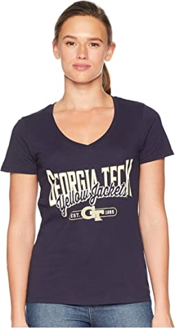 Georgia Tech Yellow Jackets University V-Neck Tee