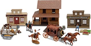New Ray SS-38465 Deluxe Western Town Playset