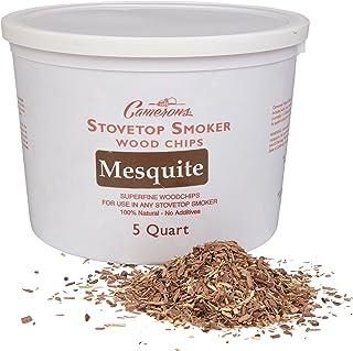 Sponsored Ad - Camerons Smoking Chips - (Mesquite) Kiln Dried, Natural Extra Fine Wood Smoker Shavings - 5 Quart (4.73176 ...