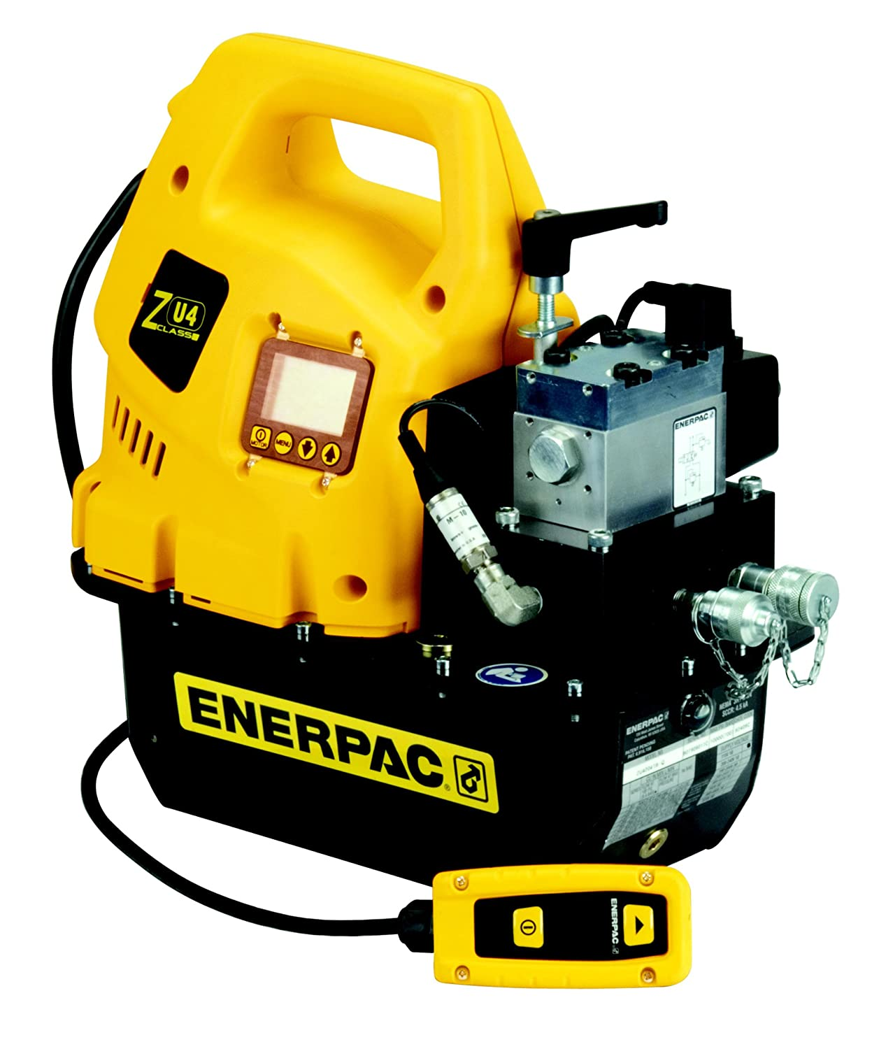 Limited time trial price Enerpac ZU4204TB-QH Classic Torque Wrench Pump VE42Q Valve Year-end annual account with