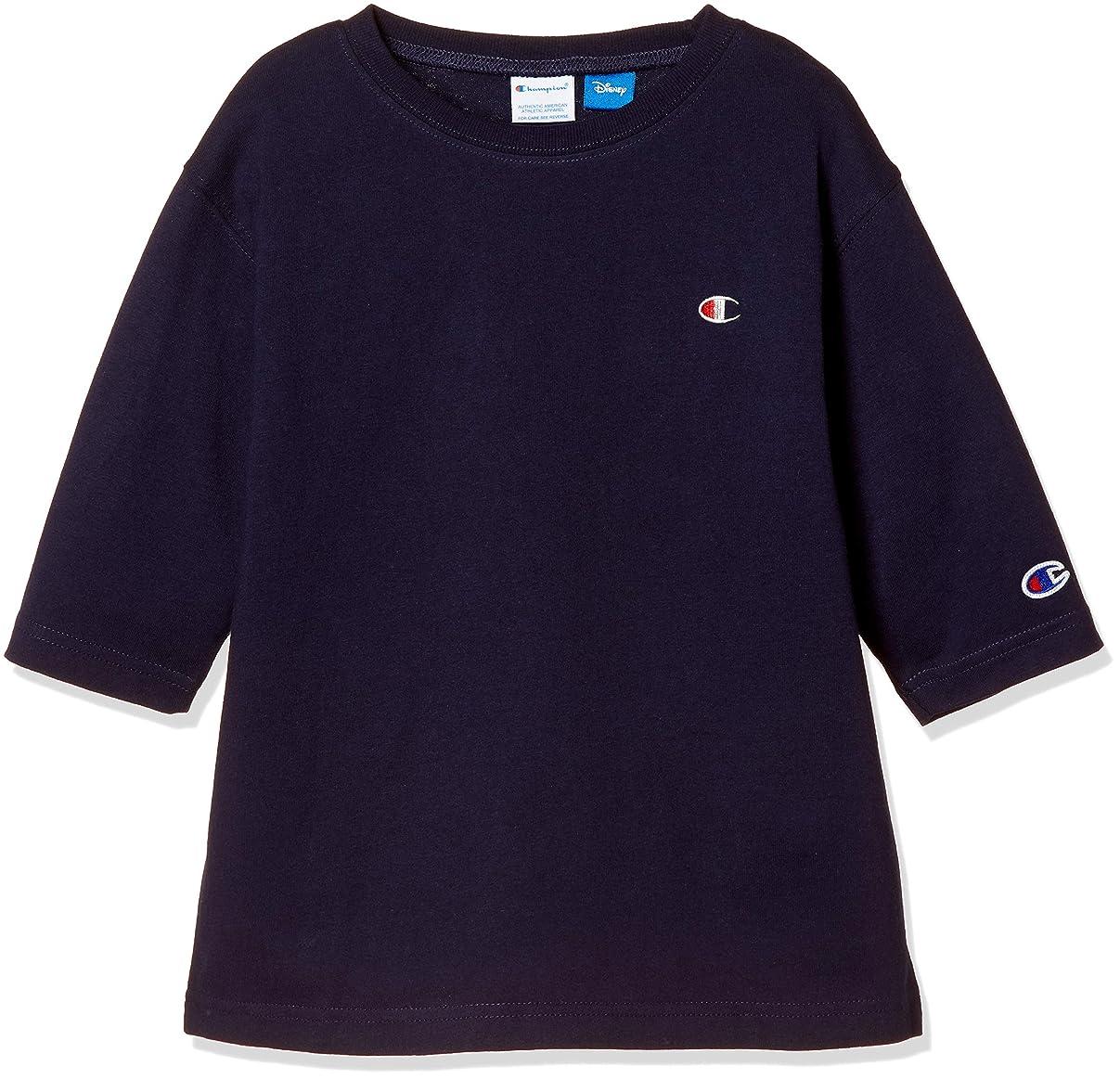 レンダリング瞬時に保守可能[チャンピオン] 7分袖ゆったりTシャツ