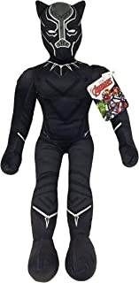 Jay Franco Marvel Black Panther Plush Stuffed Pillow Buddy - Kids Super Soft Polyester Microfiber, 27 inch (Official Marvel Product)