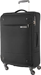 Samsonite 109257 Base Boost 2 Spinner Expandable Suitcase, Black, 71 Centimeters
