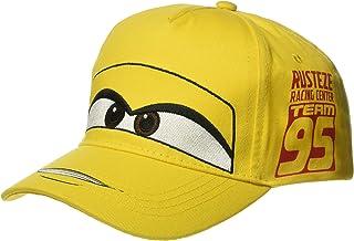 Disney Boys Cars Cruz Big Face Baseball Cap, Kid's, Yellow, One Size