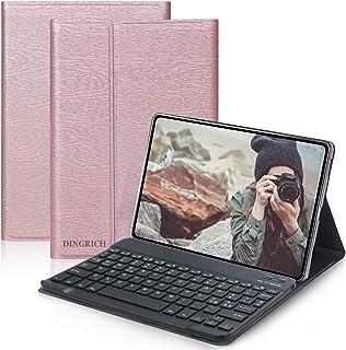 D DINGRICH Tastiera Custodia per Samsung Galaxy Tab A 10.1 2019 T515/T510, Protettiva Cover con Tastiera [Layout Italiano ...