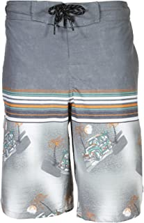 47d75b815b TONY HAWK Boys Striped Tropical Print Stretch Boardshort Swim Trunk (See  Sizes)