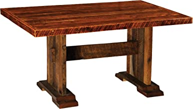 product image for Barnwood Harvest Dining Table - 5, 6, 7, 8 Foot with Artisan Top