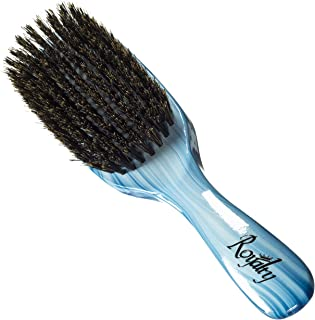 Royalty By Brush King Wave Brush #912-9 Row Medium - Great pull - From the maker of Torino Pro 360 waves brushes