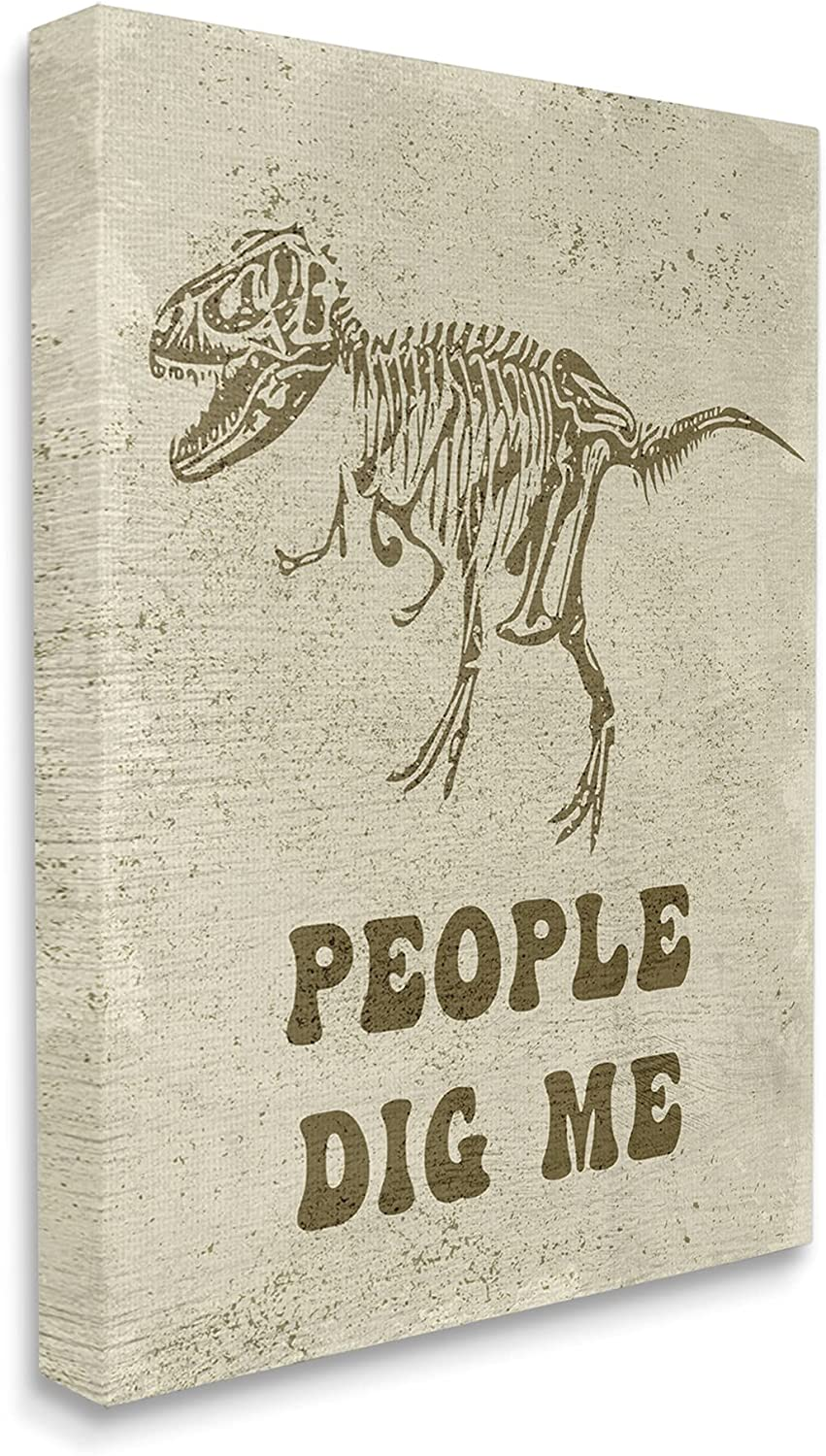 Stupell Industries Rustic Dinosaur Skeleton People T-Rex Dig Me Tampa 2021 autumn and winter new Mall