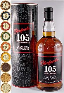 Glenfarclas 105 Single Malt Whisky 1 Liter  9 Edelschokoladen in 9 Sorten