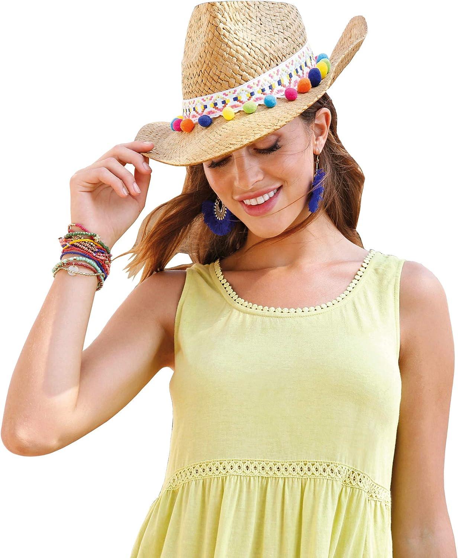 VENCA Camiseta guipur en el Escote y bajo Mujer by Vencastyle ...