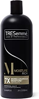 TRESemmé Moisturizing Shampoo For Hydrated Hair Moisture Rich Formulated With Vitamin E 28 oz