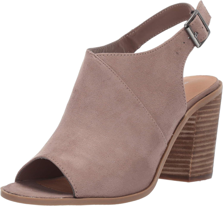 Madden girl Womens Peachees Heeled Sandal