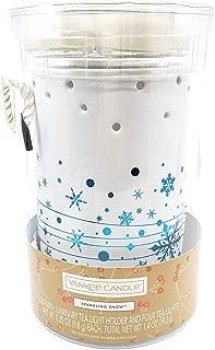 Yankee Candle Snowflake Sparkling Snow Luminary Gift Set
