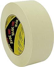 3M 301E crêpetape, industrie- en schilder-afplakwerk, 18 mm x 50 m, beige (48 stuks)