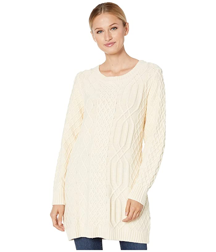 Cable Sweater (Ivory) Women's Sweater