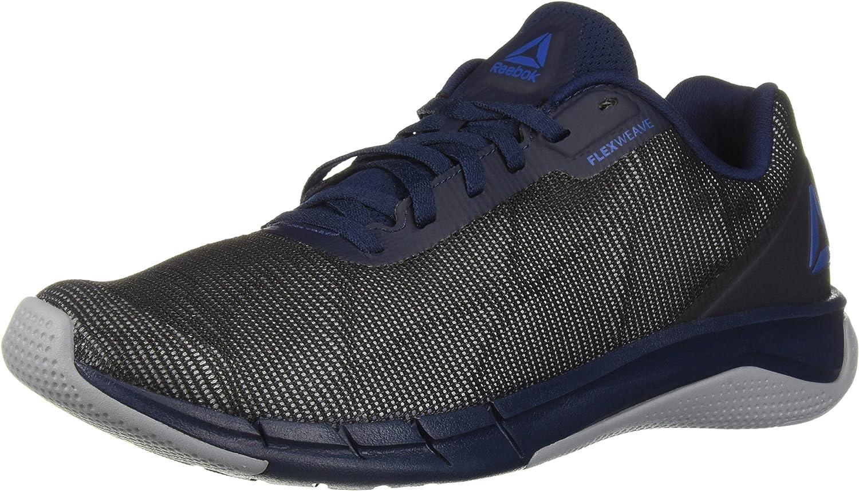 Reebok Hommes's Fast Flexweave FonctionneHommest chaussures, Collegiate Navy Cool shad, 14 M US