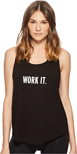 Kate Spade New York Athleisure Work It Tank Top