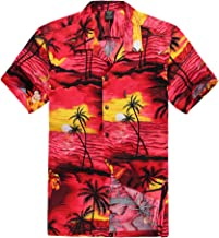 Palm Wave Men's Hawaiian Shirt Aloha Shirt