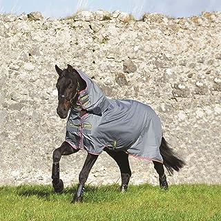 Amigo Unisex Bravo 12 Plus Turnout With Front Disc Closure Horse Rug Waterproof