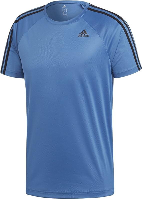 adidas D2m tee 3s Camiseta Hombre
